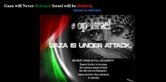 Anonymous,hack,israel,gaza,palestina