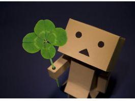 danboo,four leaf clover