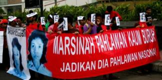 marsinah,demo buruh,buruh,may day