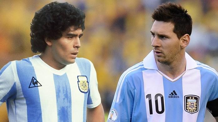 Messi Dan Maradona : Berbeda Tapi Sama