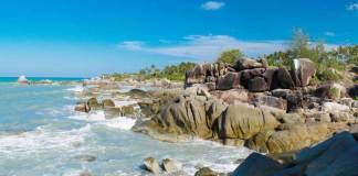 bangka belitung, wisata pantai, pantai cantik