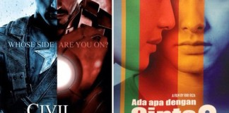 Captain America, AADC 2, UU Perfilman