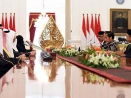 Raja Salman, Kunjungan Raja Arab, Presiden Joko Widodo