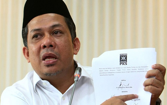 Fahri Hamzah berseteru dengan PKS