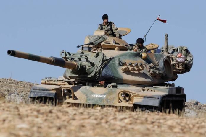 perang besar turki melawan amerika