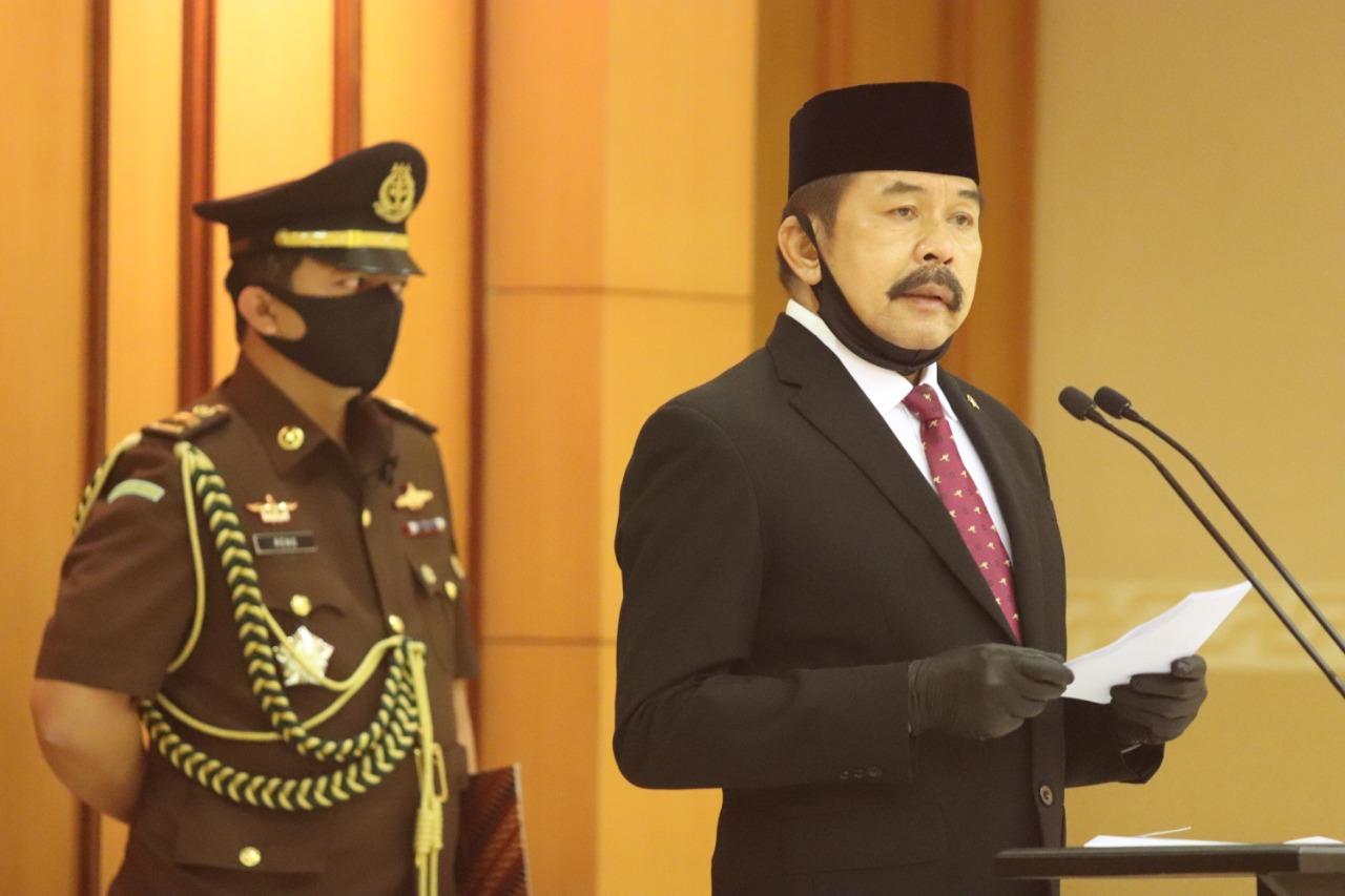 Baharudin Lopa Jaksa Agung Jaksa Agung Lantik 11 Pejabat Di Aula Baharudin Lopa Kejaksaan Agung Ri Kabar One