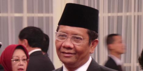 Mantan Ketua MK Mahfud MD | KOMPAS.COM/Sandro Gatra