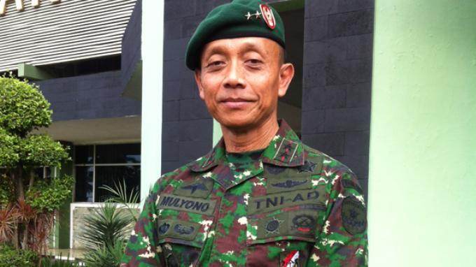 Pangkostrad, Mayjen TNI Mulyono. Foto : Tribunnews.com