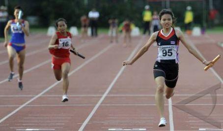 Ilustrasi Olahraga Atletik.