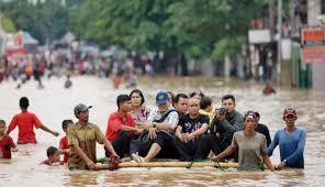 Banjir di Pasaman. Foto : infosumbar.net