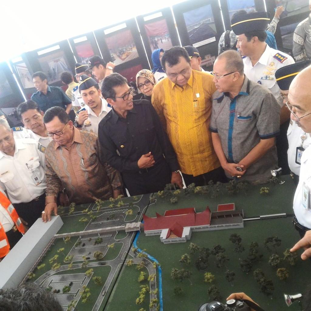 Pencanangan Pembangunan Stasiun dan Jalur KA Duku-BIM. Foto : Ikhwan