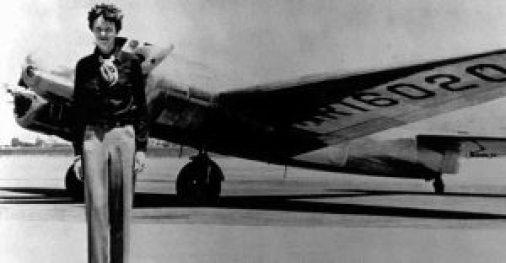 Foto Amelia Earhart. Sumber: abc.es