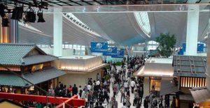 Penampakan Kios Bergaya Rumah Jepang. Sumber: airlinereporter.com