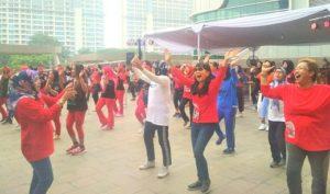 300 Peserta Lomba Senam Kreasi Gemakan Jingle IKABELS Jakarta