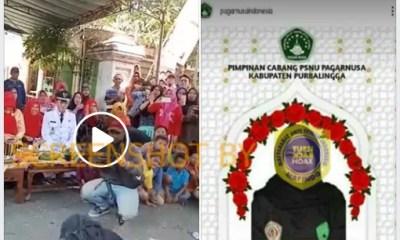 [SALAH] Pesilat Pagar Nusa Purbalingga meninggal karena atraksi pemecahan batu bata di atas kepala menggunakan palu