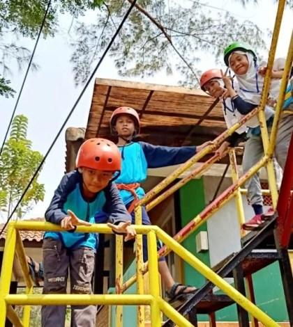 Siswa-siswi MIN 3 Tangsel Kunjungi Happy Land Cibalung Bogor