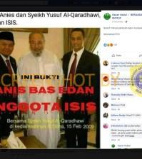 "[SALAH] ""INI BUKTI ANIS BAS EDAN ANGGOTA ISIS, Bersama Syekh Yusuf Al-Qaradhawi pimpinan ISIS"""