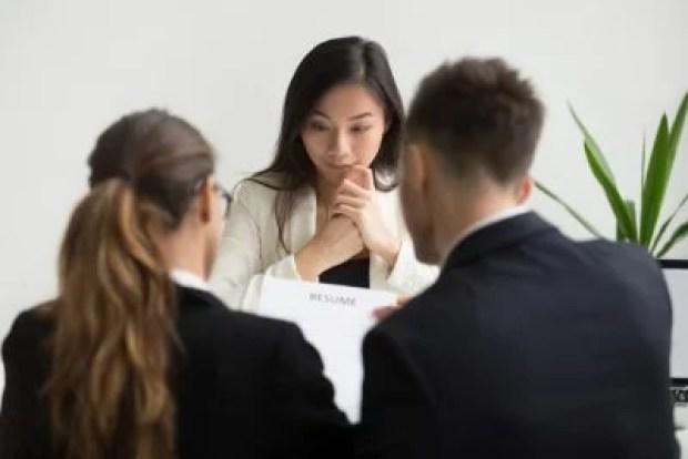 cemas saat wawancara kerja