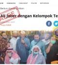 """[SALAH] Foto judul berita """" Syekh Ali Jaber dengan Kelompok Teroris"""""""