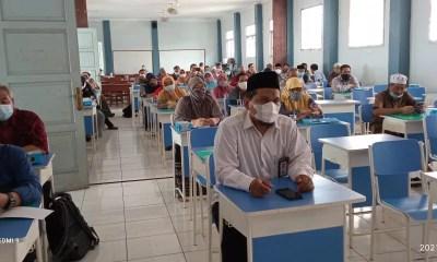Sosialisasi Juknis Tunjangan Profesi 2021 dan Pembinaan GPAI Non PNS Kemenag Tangsel