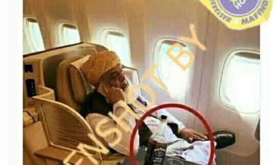 [SALAH] Foto Pemimpin Taliban Minum Wiski