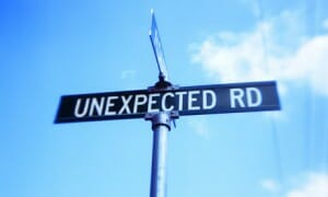 blog unexpected road