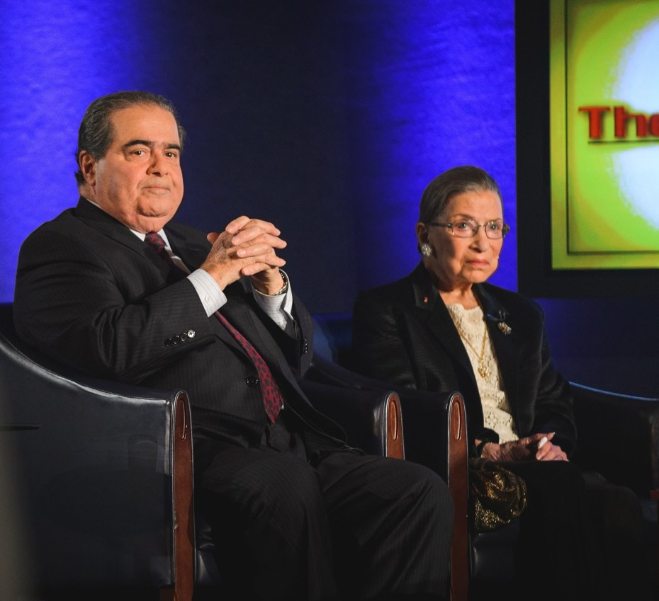 Justices RBG and Scalia