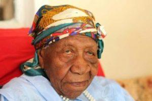 Blog image - worlds oldest person - Jamaica - Violet Brown