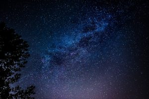 background image - blue starry