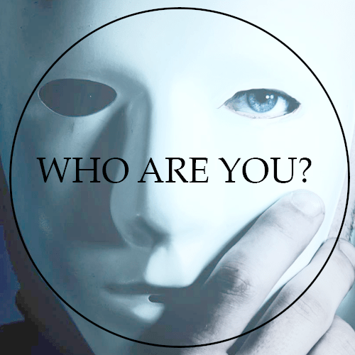 Streaming Series - Who are you? Mask image