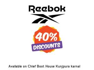 Reebok Shoes Flat 40% Discount Sale