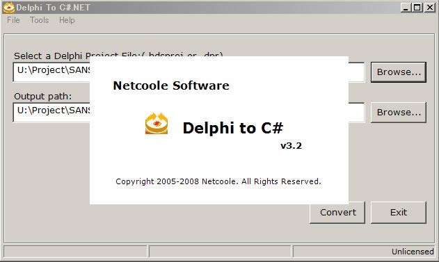 delphi2cs