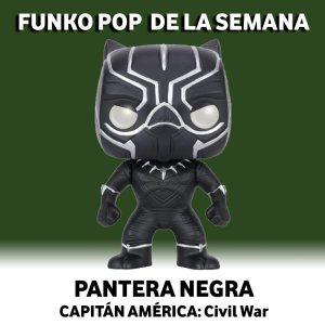 Funko Pop de la Semana Pantera Negra