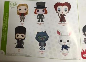 Art work de Funko Pop Disney