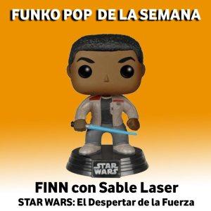 Finn con sable laser