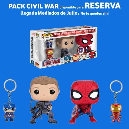 Reserva Pack Civil War