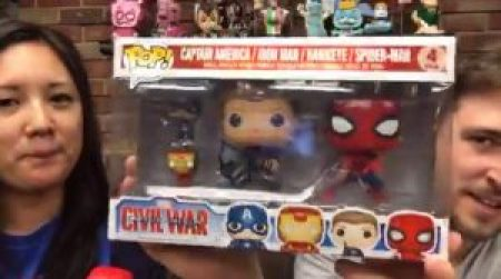 Pop de Spiderman