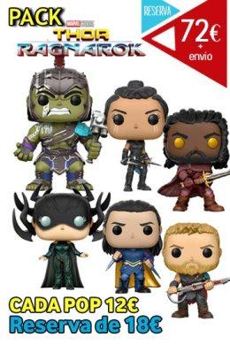 Funko Pop Pack Thor Ragnarok