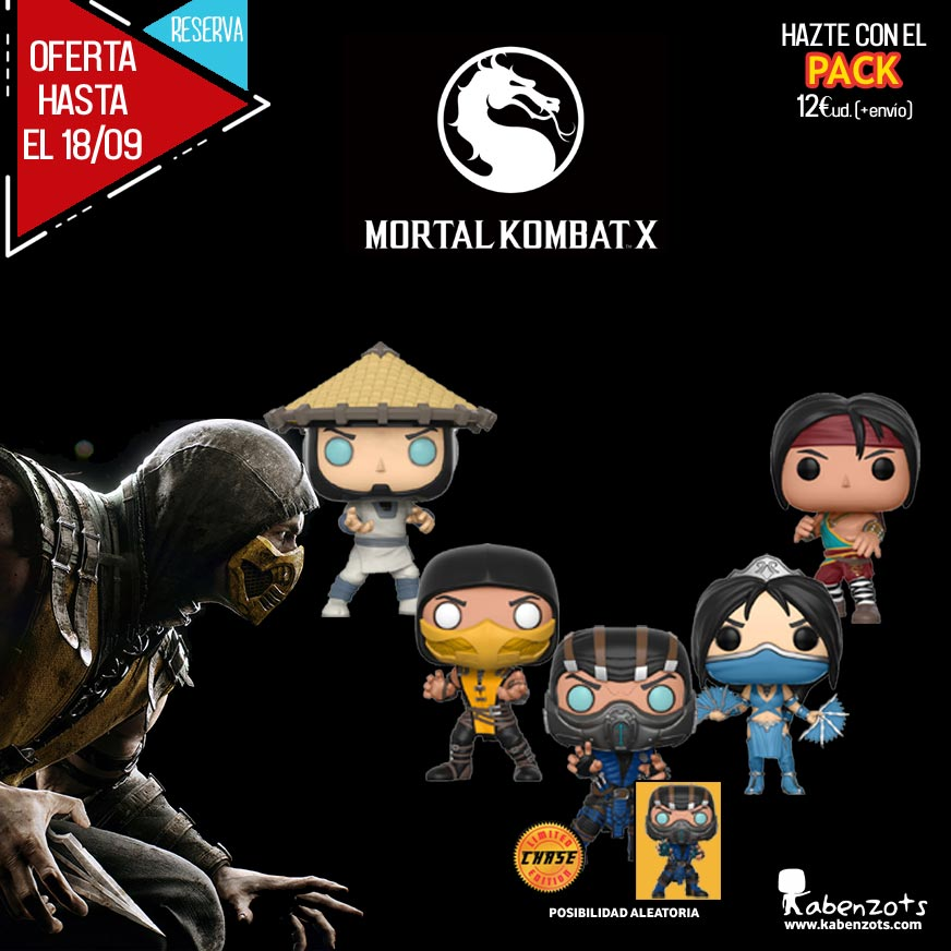 Reserva Mortal Kombat X