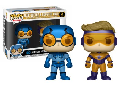 Funko Pop PACK BLUE BEETLE & BOOSTER GOLD