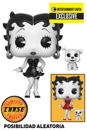 Funko Pop BETTY BOOP y PUDGY E Earth Exclusive