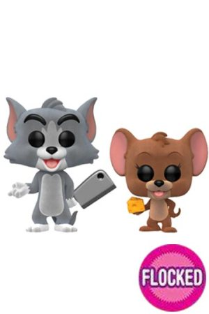 Funko Pop 2-PACK TOM Y JERRY FLOCKED