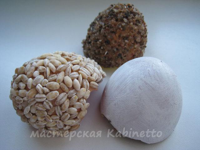 пасхальный декор из яичной скорлупы