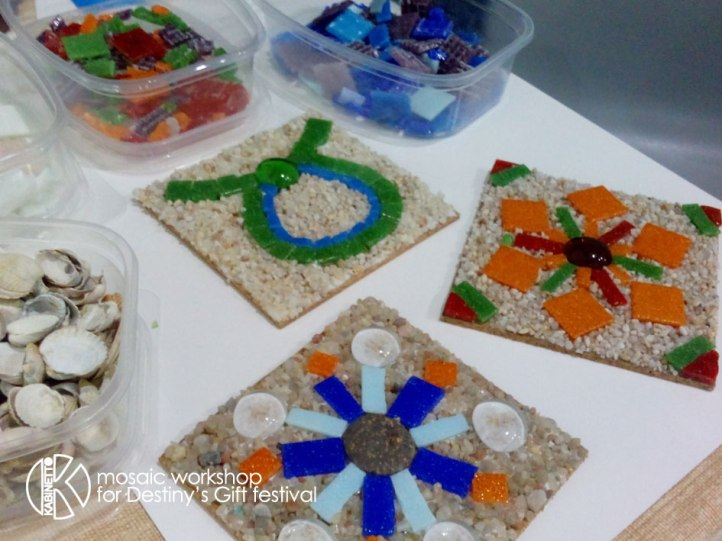 destiny's gift mosaic workshop
