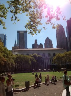 Nothing like summer in Bryant Park