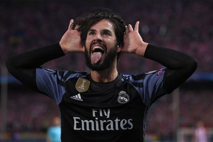 isco managing madrid