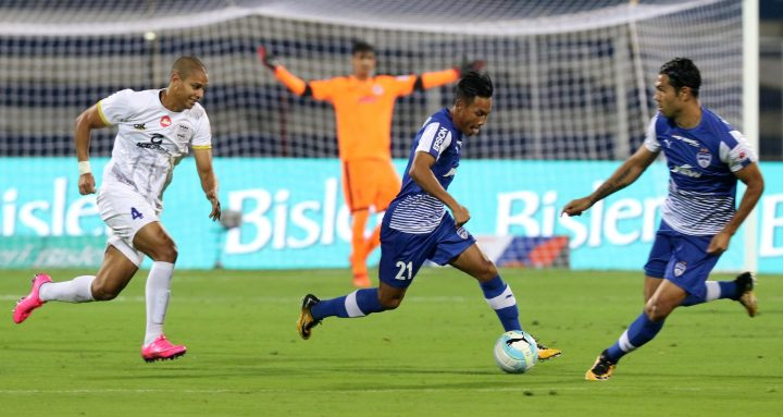 Udanta Singh in action for Bengaluru FC