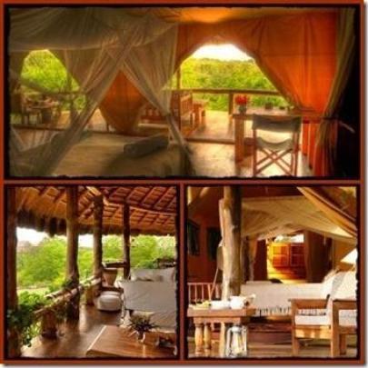 Semliki Safari Lodge in the Semliki Valley
