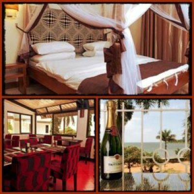 2 Friends Beach Hotel - one of the best Boutique Hotels in Entebbe
