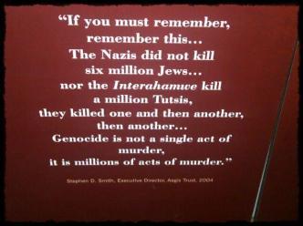Rwanda -Genocide-Plaque